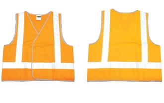 On Site Safety - Orange Day/Night Vest