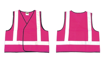 On Site Safety - Pink Night Vest